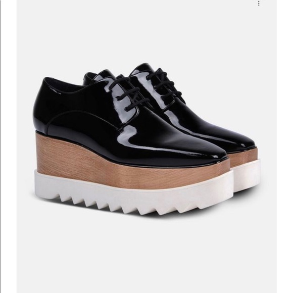 199567e00e0d Stella McCartney Black Patent Elyse Shoes. M 5a368c4d5521be7bdf009aa9